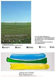"Robert Sturmhoevel  ""hinterm horizont"" Willingshausen"