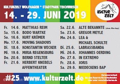 25. Kulturzelt Wolfhagen