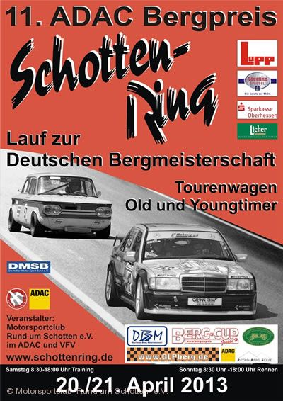 ADAC Bergpreis Schottenring am 27.04.2018 bis 29.04.2018