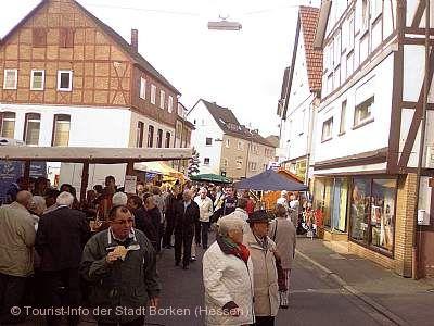 Nordhessischer Wecke- un Worschtmarkt Borken (Hessen) am 29.09.2019
