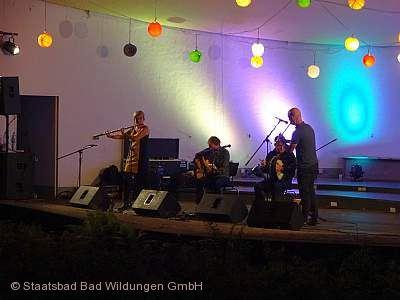 Kultursommer Nordhessen 2020 - Folk im Park Bad Wildungen
