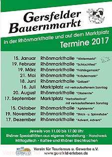 Bauernmarkt Gersfeld (Rhön)