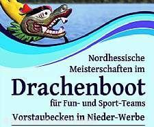 Drachenbootrennnen in Waldeck Nieder Werbe Waldeck (Edersee)