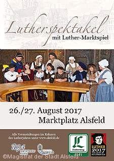 Luther Marktspiel mit buntem Markttreiben Alsfeld