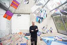 """""""Blickachsen 11"""" - Installationskunst auf Burg Eppstein: Raul Walch"""