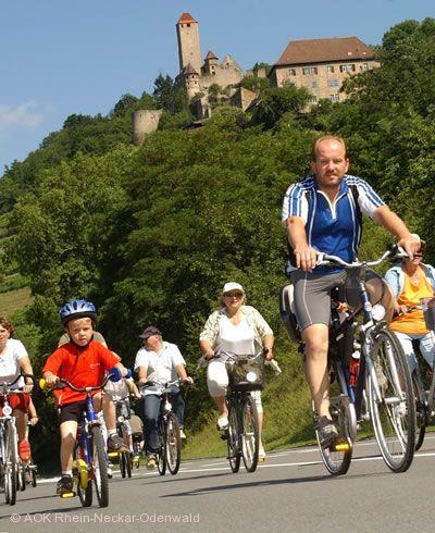 """""""Lebendiger Neckar und AOK-Radsonntag"""" Ladenburg am 21.06.2020"""