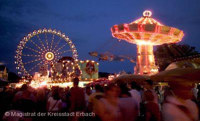 Erbacher Wiesenmarkt Erbach im Odenwald