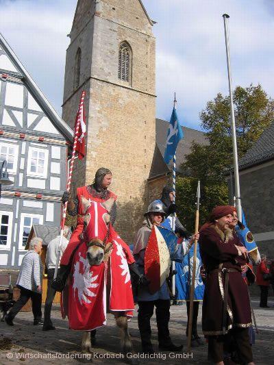Mittelalterlicher Markt Korbach