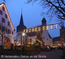 Steinauer Weihnachtsmarkt Steinau an der Straße