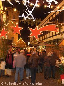 Feuriger Weihnachtsmarkt Neukirchen (Knüllgebirge) am 08.12.2018 bis 09.12.2018
