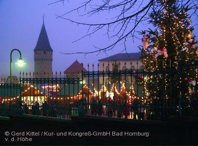 Romantischer Weihnachtsmarkt Bad Homburg v.d. Höhe