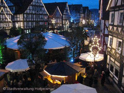 Weihnachtsmarkt Hofgeismar