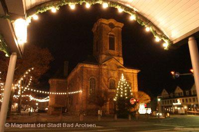 Weihnachtsmarkt Bad Arolsen am 30.11.2017 bis 03.12.2017