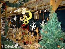 Romantischer Weihnachtsmarkt Battenberg (Eder)