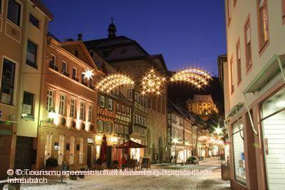 """""""Millumina"""" - Adventsmarkt & Stadt im Licht Miltenberg a. Main"""