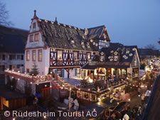 Weihnachtsmarkt der Nationen Rüdesheim am Rhein
