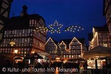 Weihnachtsmarkt im Winterwald Melsungen