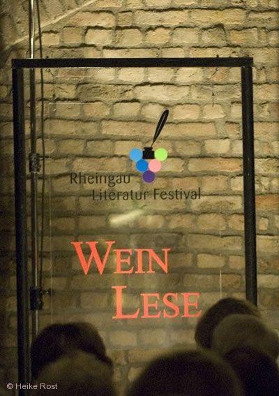 Rheingau Literatur Festival - WeinLese Wiesbaden