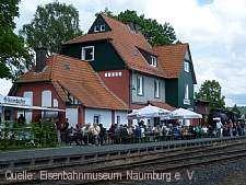 Bahnhofsfest am und im Bahnhof Naumburg