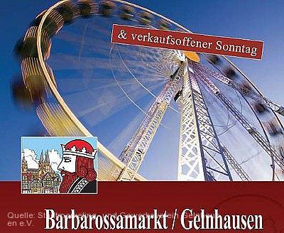 Barbarossamarkt Gelnhausen