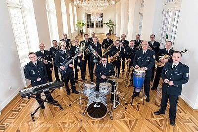 Konzert der Big Band des Landespolizeiorchesters Gedern