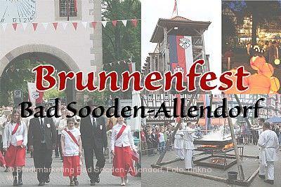 Brunnenfest Bad Sooden-Allendorf am 22.05.2021 bis 24.05.2021