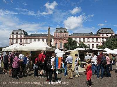 Kunsthandwerkermarkt Darmstadt