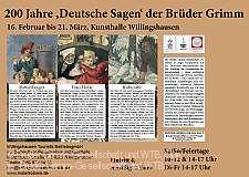 """""""200 Jahre ´Deutsche Sagen´ der Brüder Grimm"""" Willingshausen"""