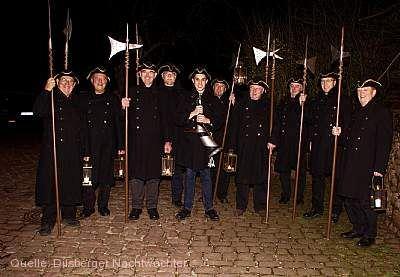Dilsberger Nachtwächter-Umzug Neckargemünd