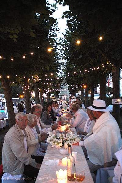 Dinner in White Bad Karlshafen