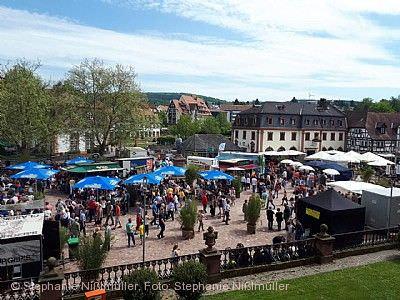 Erbacher Frühlingsmarkt mit Street Food Market Erbach im Odenwald