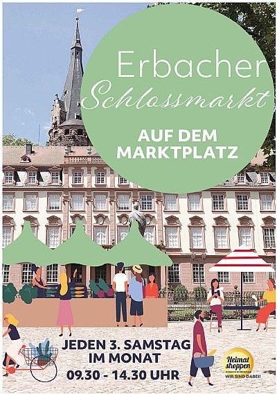 Erbacher Schlossmarkt (Wochenmarkt mit Event-Charakter) Erbach im Odenwald