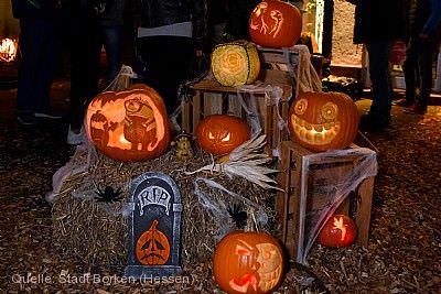 Borkener Halloween-Nacht in der Innenstadt - wurde abgesagt! Borken (Hessen)