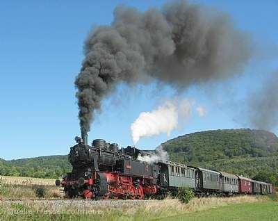 Fahrt mit dem Hessencourrier - Teddybärenfahrt Naumburg