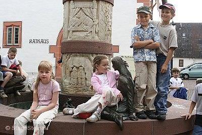 Mitmach-Stadtführung für Kinder Steinau an der Straße