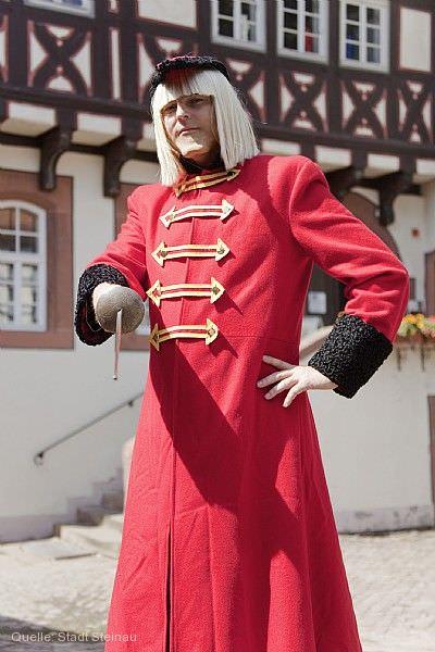 Märchenstadtführung mit dem König Drosselbart Steinau an der Straße