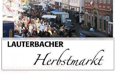 Lauterbacher Herbstmarkt mit Kunsthandwerker/Brauchtumsmarkt Lauterbach (Hessen)