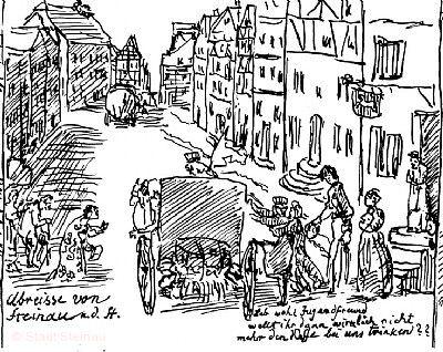 Zeitreise in Ludwig Emil Grimms Steinau Steinau an der Straße