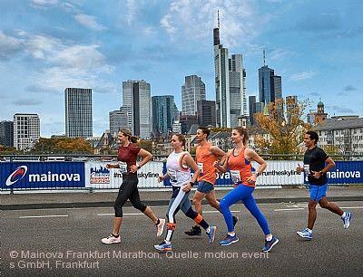 Mainova Frankfurt Marathon Frankfurt am Main am 25.10.2020