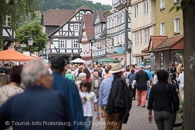 Blumenmeer & Naschmarkt Rotenburg an der Fulda