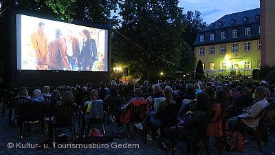 Open-Air Kino im Schloss Gedern am 20.06.2020