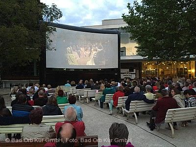 Open-Air-Kino im Kurpark Bad Orb