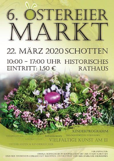 6. Ostereiermarkt im historischen Rathaus Schotten