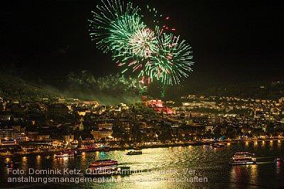 """""""Rhein in Flammen"""" Bingen am Rhein"""