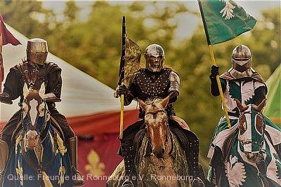 Großes Pfingstturnier der Ritter zu Pferde Ronneburg