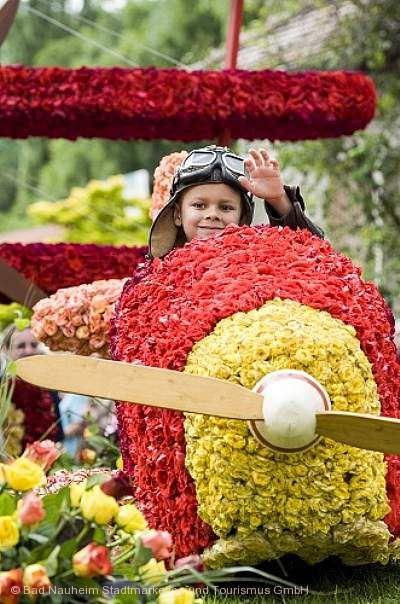 Steinfurther Rosenfest Bad Nauheim am 13.07.2018 bis 16.07.2018