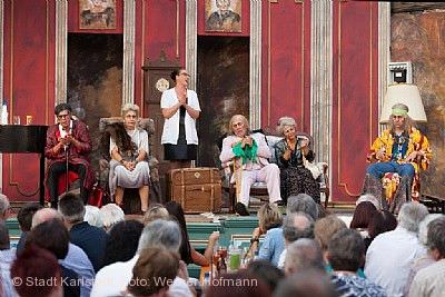 Sommertheater im Hofriethgärtlein Karlstadt