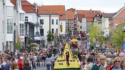 Stadtfest mit Blumenkorso Bad Wildungen