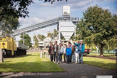 Führungen über Tage im Themenpark Kohle & Energie Borken (Hessen)
