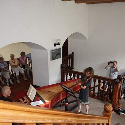 Treppenhauskonzert - Barock trifft auf Musik und Architektur Bad Karlshafen